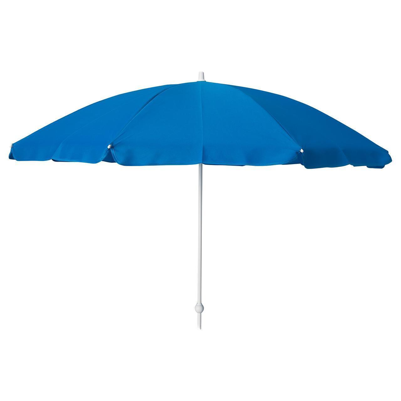 IKEA RAMSO Зонт, синий  (204.267.28)