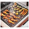 IKEA APPLARO/KLASEN Гриль с шкафом, коричневая Морилка, сталь  (292.819.38), фото 3