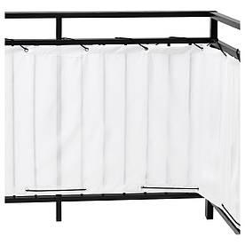 IKEA DYNING Балконний завісу, білий (803.407.84)
