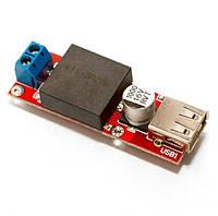 Понижуючий DC / DC стабілізатор з 7-24В до 5В 3А USB, фото 1