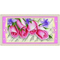"""""""Розовые розы"""" Набор для рисования камнями"""