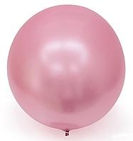 Шар Bubbles BL хром розовый Китай, 44 см (18')