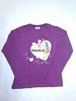 Кофта для дівчинки 146 см (10-11 years) фіолетовий коні і дівчата Lupilu 55149