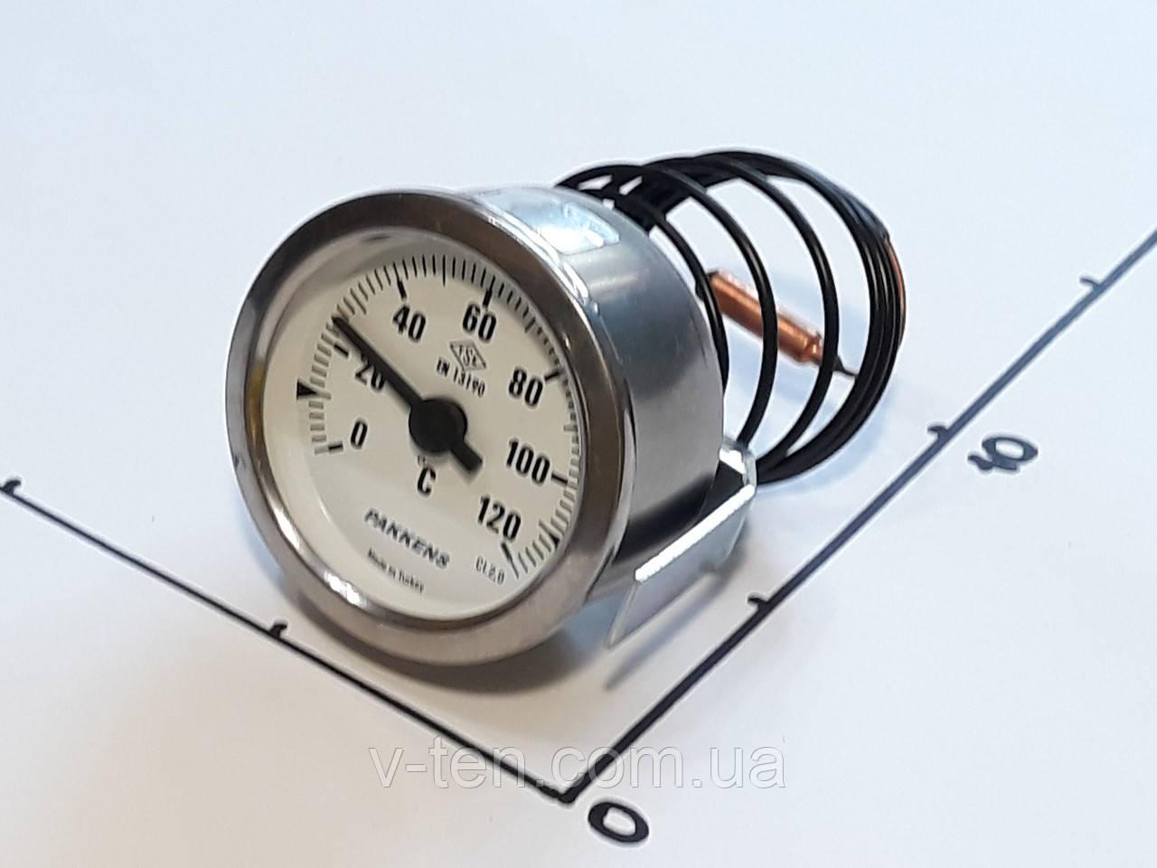 Термометр Ø60мм / 120°С / L-100 cм капиллярный PAKKENS (Турция)