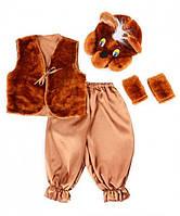 Детский карнавальный костюм Bonita Мишка № 1 105 - 120 см Коричневый