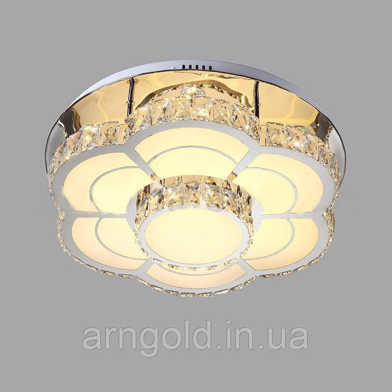 Люстра LED хрустальная 52-8015-96W