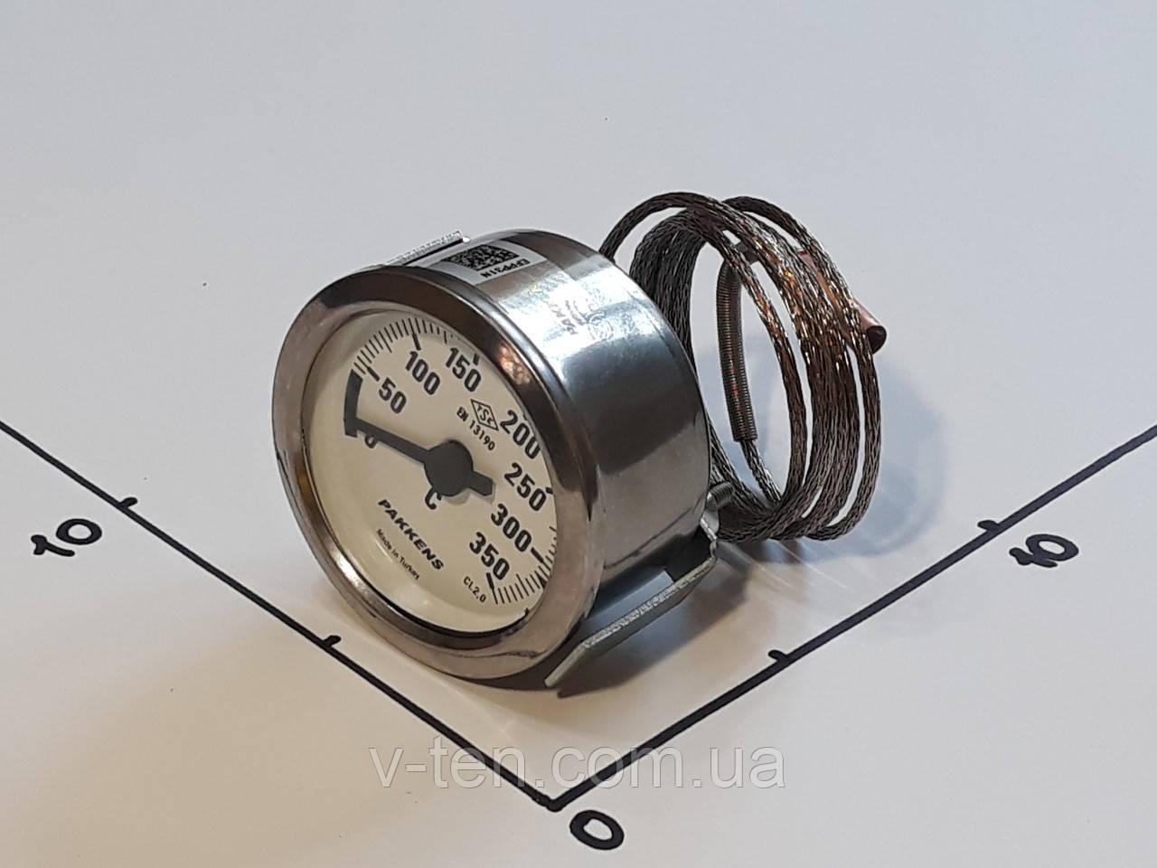 Термометр Ø60мм / 350°С / L-100 cм капиллярный PAKKENS (Турция)