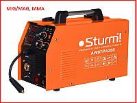 ✅ Сварочный инверторный полуавтомат (MIG/MAG, MMA) Sturm AW97PA280