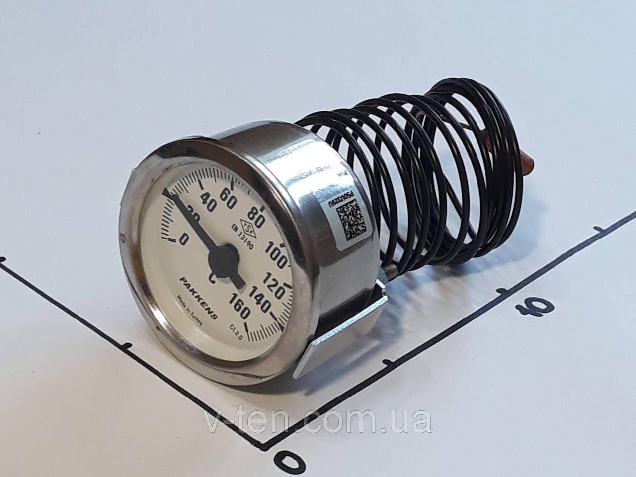 Термометр Ø60мм / 160°С / L-200 cм капиллярный PAKKENS (Турция)