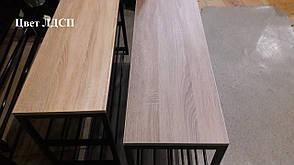 Прикроватный столик ВТ BERGAMO в стиле Лофт  ТМ МЕТАКАМ, фото 2