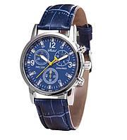 Часы мужские Bowake синие/кварцевые/цвет ремешка синий