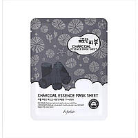 Тканевая маска c углем - Esfolio Pure Skin Essence Charcoal Mask Sheet