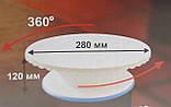 Столик поворотный кондитерский для торта 12 см-28 см пластик, фото 2