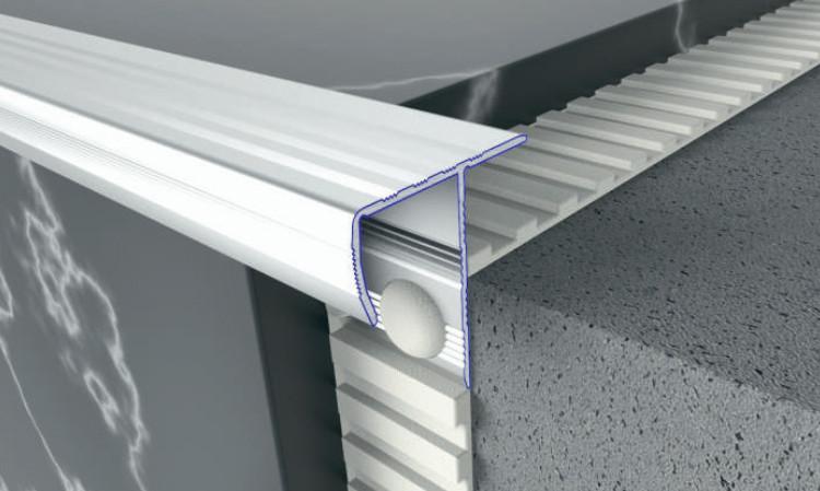 Лестничный профиль для плитки (универсальный). Длина 2,71м