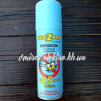 Аэрозоль от клещей и комаров ZanZara 100 мл