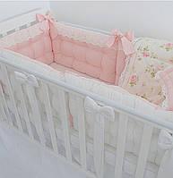 Защита в детскую кровать бортики