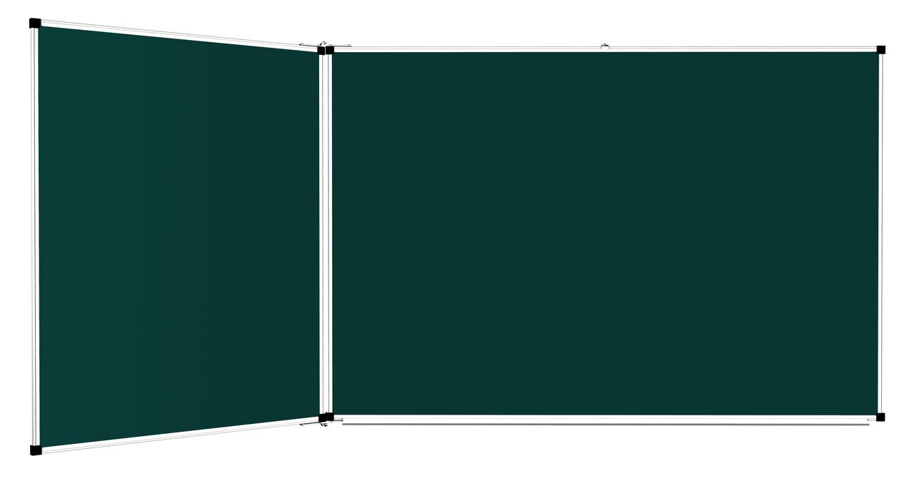 3-поверхностные доски меловые, маркерные, комбинированные – 2250x1000 мм, фото 1
