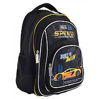 """Рюкзак школьный подростковый для мальчика ZZ-01 """"Speed Champions"""", SMART, фото 1"""
