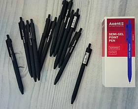 Ручка автомат Акцент Черная 0,7 мм Reporter 1065-01 Axent Германия