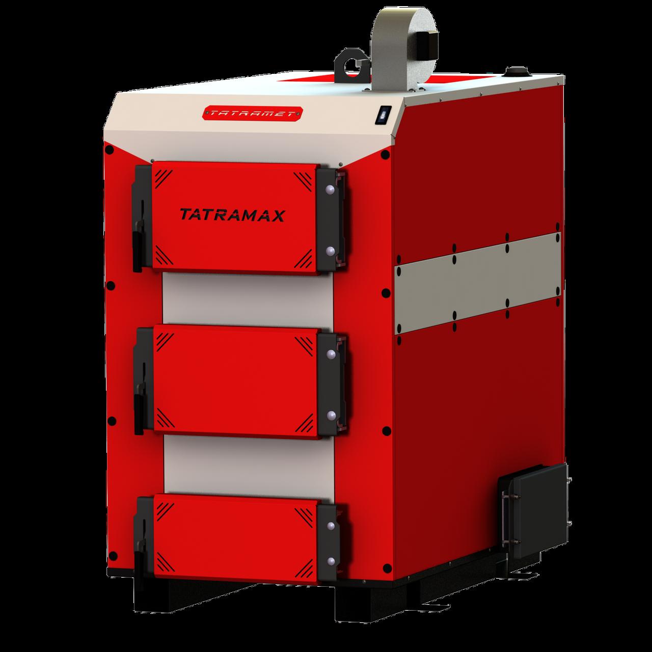 Промышленный котел с ручной загрузкой топлива TATRAMET MAX (ТАТРАМЕТ МАКС) мощность:60 кВт, толщина стали: 6мм