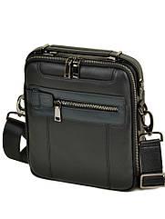 Стильная мужская сумка планшет натуральная кожа BRETTON
