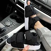 Женские трендовые сандалии\босоножки в стиле Adidas Adilette Sandal Black Черные