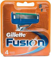 Лезвия, кассеты, картриджи Gillette Fusion 4шт / Жилет Фьюжн 4шт