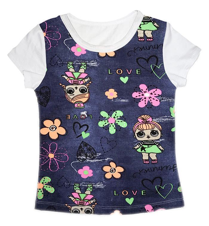 Літня футболка для дівчинки Lol опт