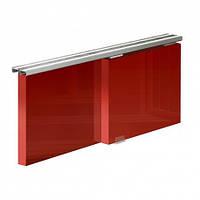 Раздвижной комплект SLID'UP 100  для монтажа  2 дверок до 150 мм