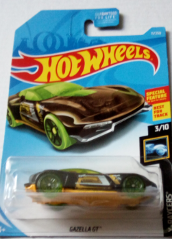 Машинка Hot Wheels 2019 Gazella GT