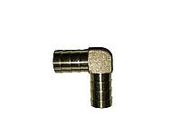 Угол соединительный латунный для шланга 8 мм
