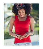 Майка хлопковая женская - 61376-94 серо-лиловая, фото 2