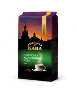 "Молотый кофе ""Віденська Кава Колискова"" Без кофеина 100 грамм Украина"