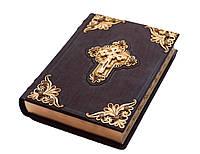 Библия с филигранью гранатами золото