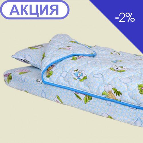 Постельный комплект Велам Лежебока (ВЕЛАМ, размер: 60х120см.)