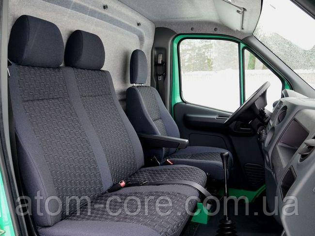 Чехлы на сиденья Форд Транзит (Ford Transit) 1+2  (универсальные, автоткань, пилот)