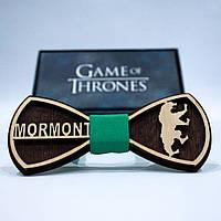 Эксклюзивный галстук-бабочка из дерева KRAGO Game of Thrones Mormont KRG-01011, КОД: 187261