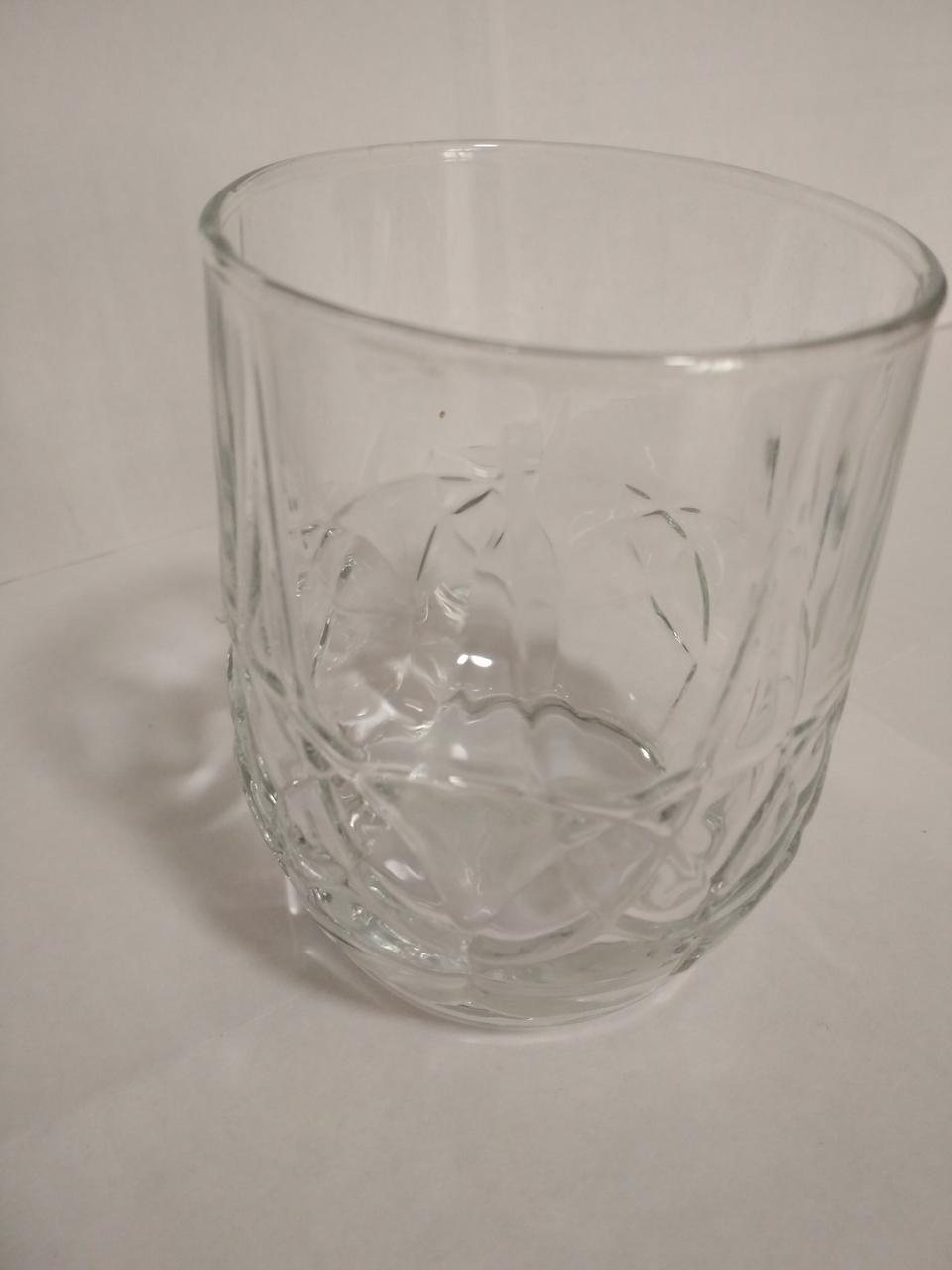Стакан низкий 260 мл стеклянный для коньяка, виски UniGlass