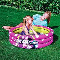 Детский надувной бассейн Bestway Minnie Mouse 102x25 см. 91060
