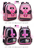 Рюкзак детский ортопед Hello Kitty в ассортименте 3 вида 3 цвета, фото 1