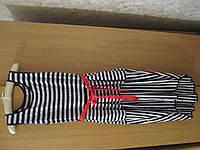 Женский полосатый сарафан. Женское летнее платье