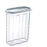 Емкость для сыпучих продуктов 2,4 лт Dunya Plastik