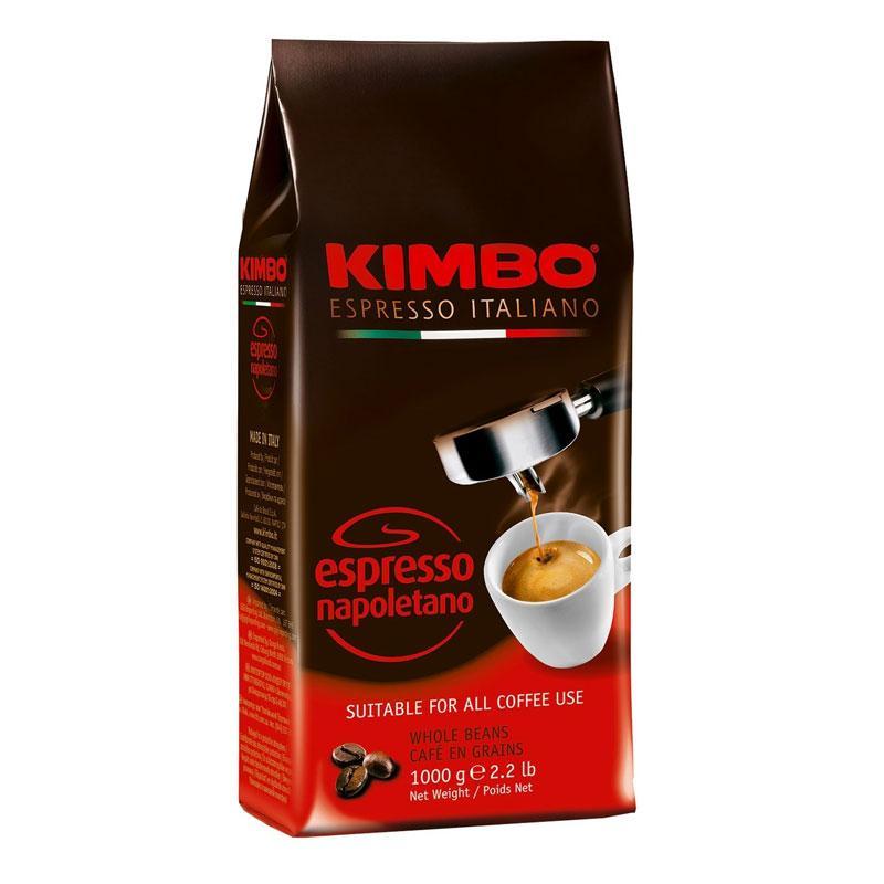 Кофе в зернах KIMBO ESPRESSO NAPOLETANO, 1кг.  Италия