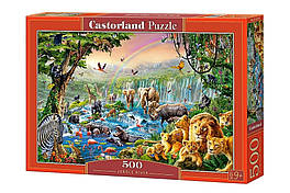 "KMB-52141 Пазлы Castorland 500 эл. ""Река в джунглях"""