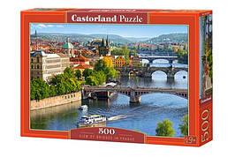 KMB-53087 Пазлы Castorland 500 эл. Мосты в Праге