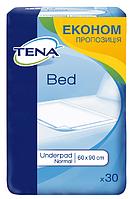 Одноразовые пеленки впитывающие Tena Bed Normal 60x90 (30шт.)