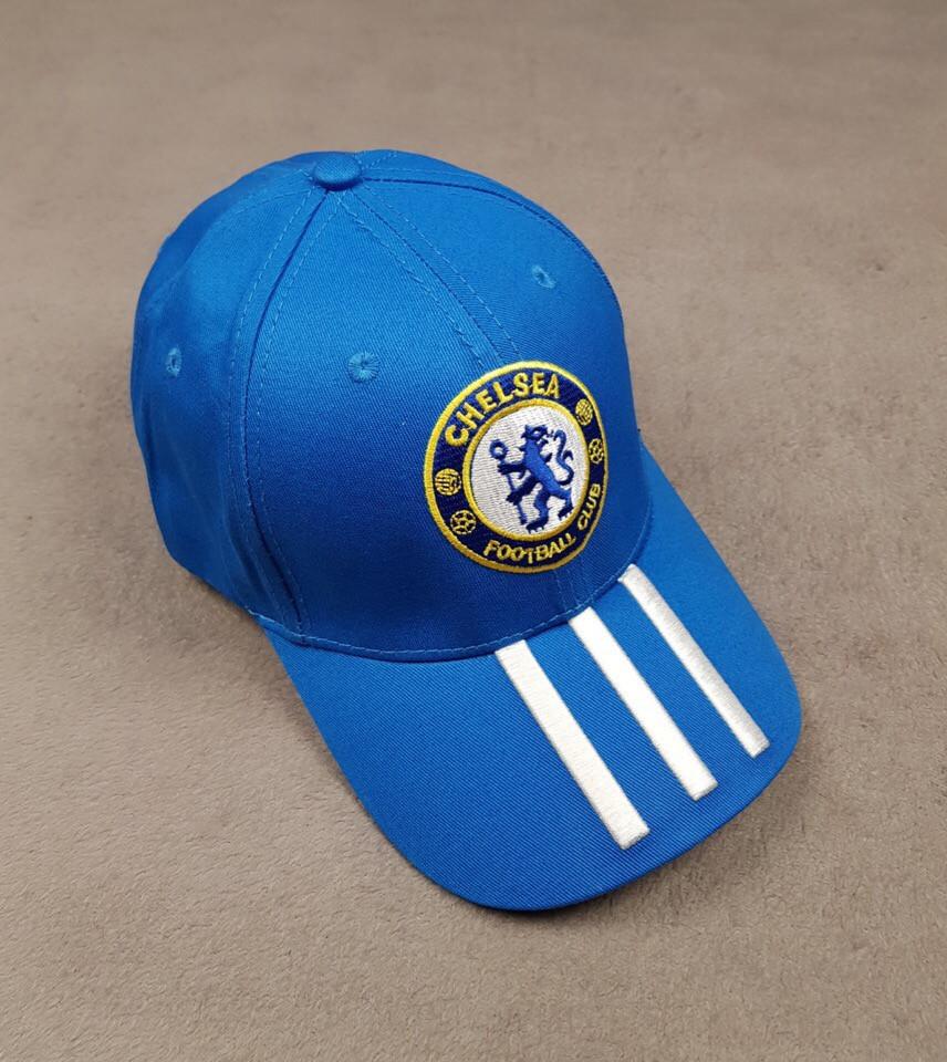 Кепка, бейсболка ФК Челси синяя