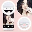Селфи кольцо Selfie Ring Light от usb и от батареек/опт, фото 4