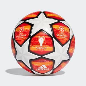 М'яч фіналу Ліги Чемпіонів 2018/2019 червоний