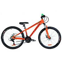 "Велосипед Optimabikes 26"" MOTION DD 2019 (оранжевый ) (OPS-OP-26-158)"